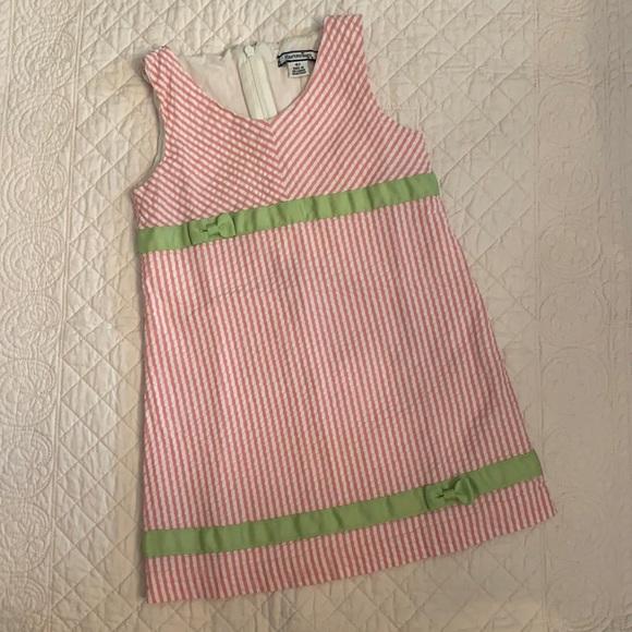 Hartstrings Seersucker Dress